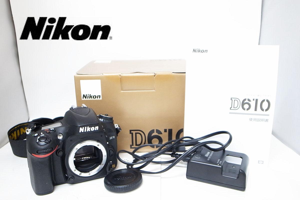 Nikon/ニコン D610 ボディ 元箱  付属品  美品 h