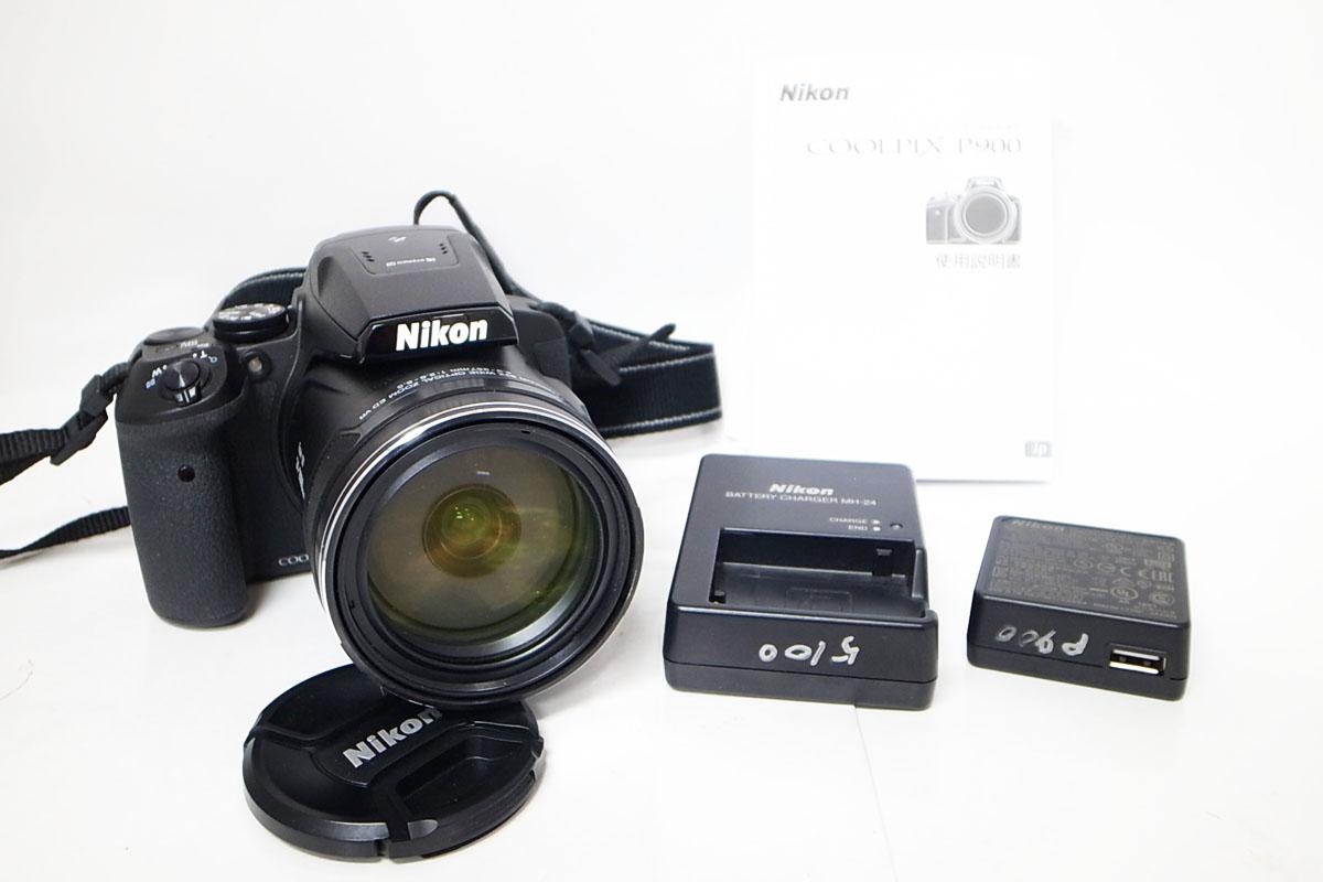 Nikon/ニコン Coolpix クールピクス P900 デジカメ 付属品 説明書 5点セット h