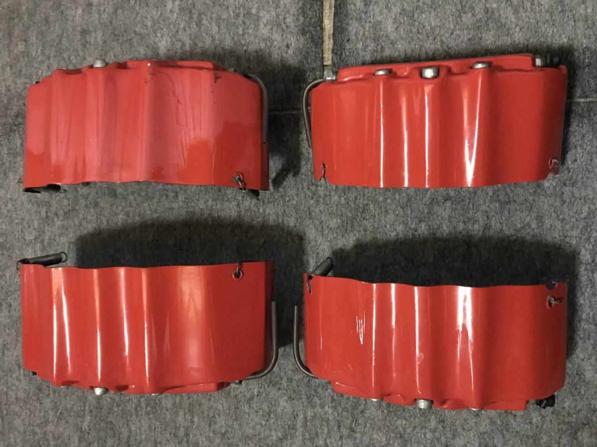 アルファード20 ヴェルファイア20 キャリパーカバー 赤 ブレンボステッカー_画像2
