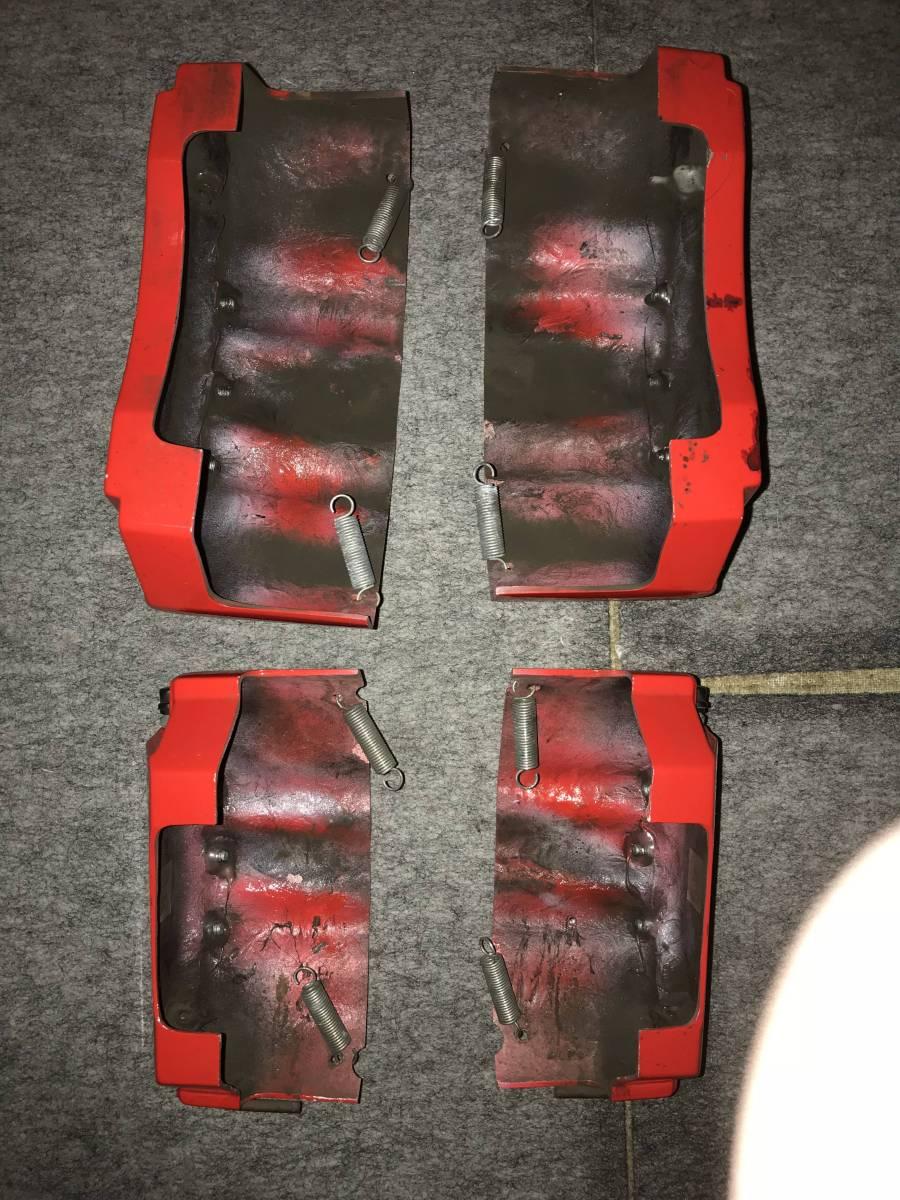 アルファード20 ヴェルファイア20 キャリパーカバー 赤 ブレンボステッカー_画像3