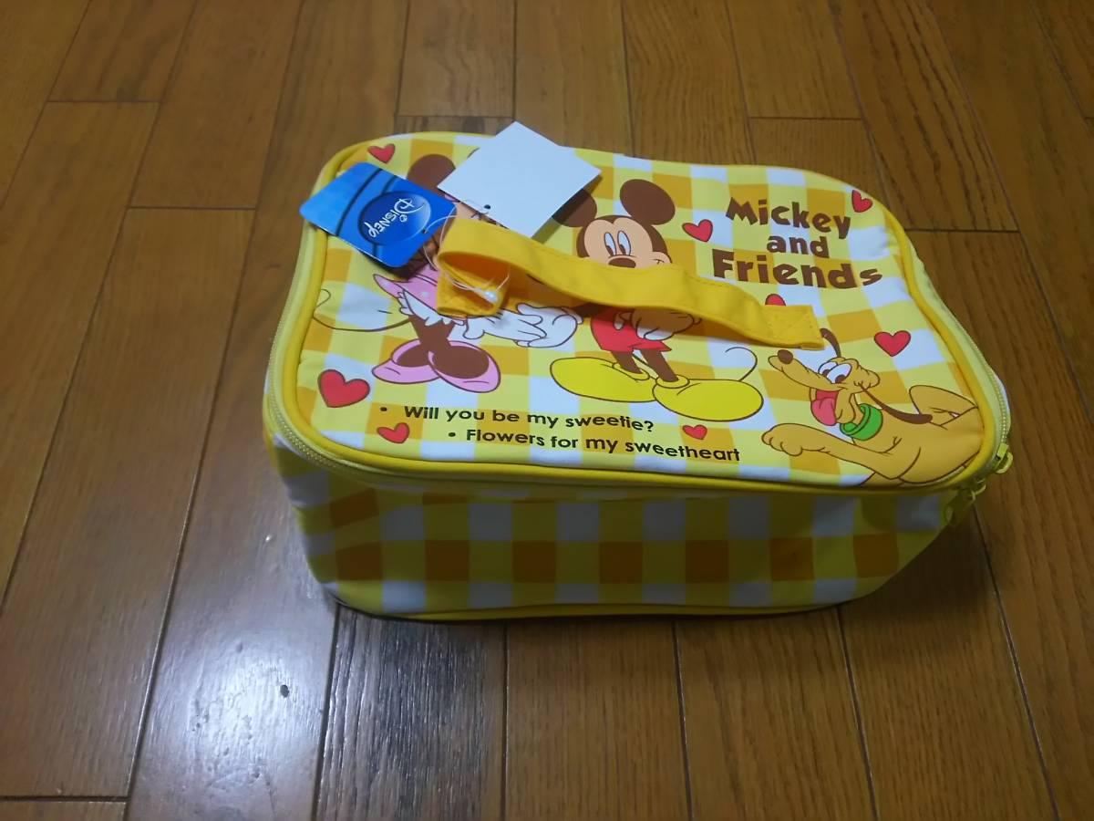 新品 ディズニー クーラーバッグ ミッキー ミニー ディズニーグッズの画像