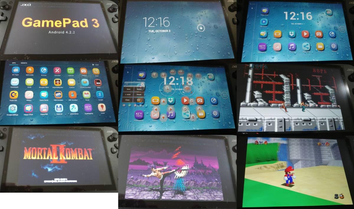新品同様 [レトロゲームエミュレータ]◆金星JXD s7800◆16gb カードおまけ_画像3
