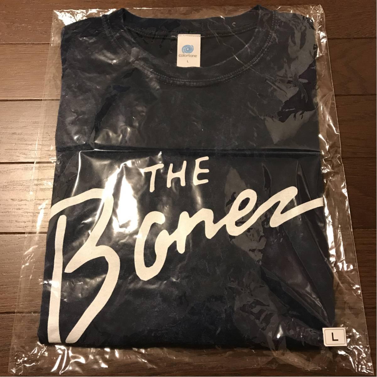 The BONEZ ミネラルウォッシュ Tシャツ ブルー Lサイズ RIZE JESSE PTP dragon ash kj ライブグッズの画像