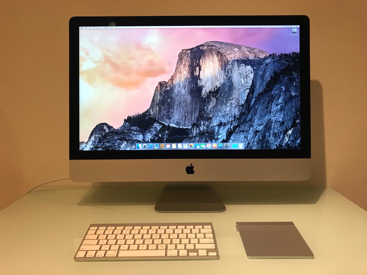 送料無料 APPLE iMac[中古 ]Retina 5Kディスプレイ, 27-inch Late 2015