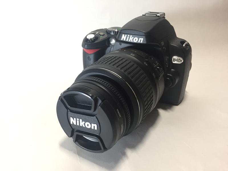 1円スタート ニコン デジタル一眼レフ D40X AF-S DX Zoom-Nikkor 18-55mm f/3.5-5.6G EDⅢ