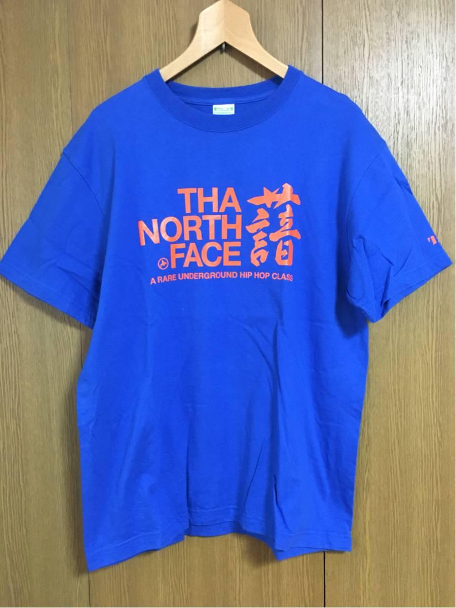 THA BLUE HERB 公式グッズTシャツ TBH ブルーハーブ the north face Lサイズ