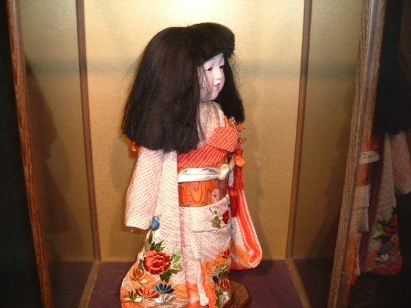 【人形館】「市松T93」日本人形、雛人形、〝衣_画像3
