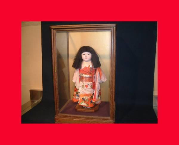 【人形館】「市松T93」日本人形、雛人形、〝衣_可愛い状態良いお品です。
