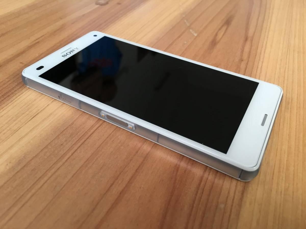 ■美品■Docomo Xperia Z3 Compact (SO-02G) ホワイト_画像3