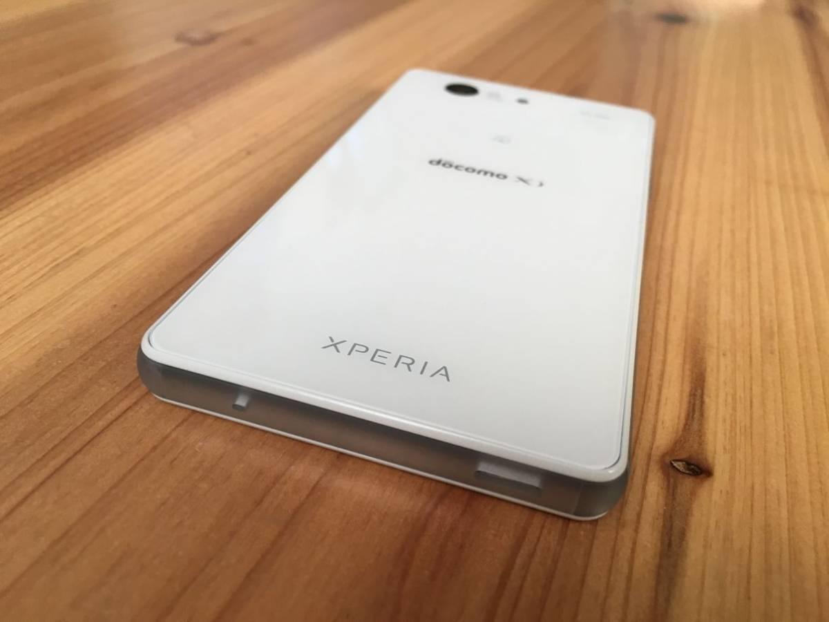 ■美品■Docomo Xperia Z3 Compact (SO-02G) ホワイト_画像7