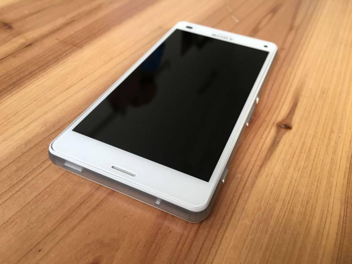 ■美品■Docomo Xperia Z3 Compact (SO-02G) ホワイト_画像2