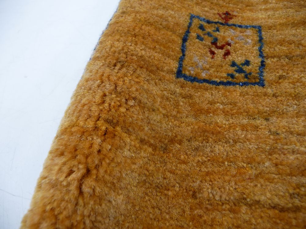【大幅値下げ●放出品●見切り処分●最低激安特価】イラン ゾランヴァリ ギャッベ 絨毯 ラグ 150×96㎝ カシュクリ 遊牧民 ウール_画像10