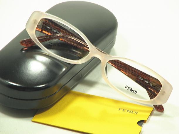 【FENDI】Fendi glasses F-947A-664 cell glasses frames