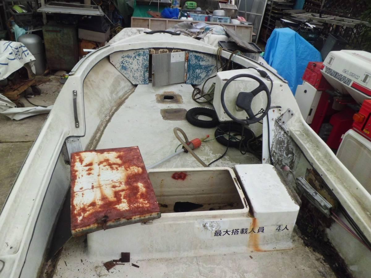 モーターボート 小型船舶 汽船 6.65m ヤマハ 40XWH 福岡県行橋市_画像5