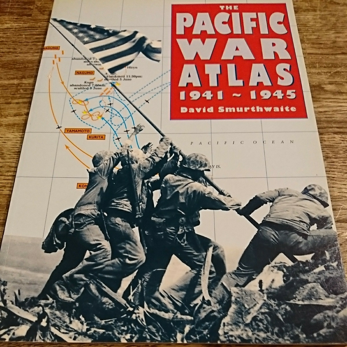 foreign book The Pacific War Atlas 1941-1945 futoshi flat   war map