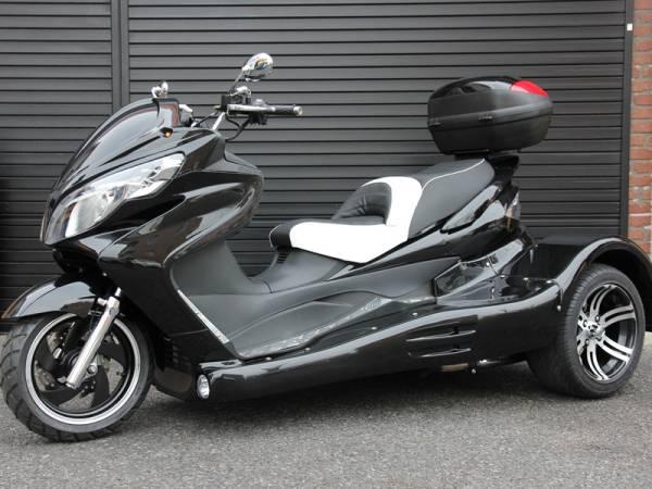 即納可能。新品販売 ICEBEAR 250cc トライク ブラック_画像2