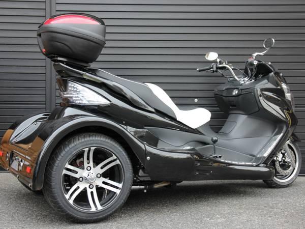 即納可能。新品販売 ICEBEAR 250cc トライク ブラック_画像3