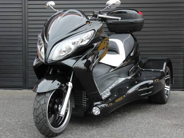 即納可能。新品販売 ICEBEAR 250cc トライク ブラック_画像1