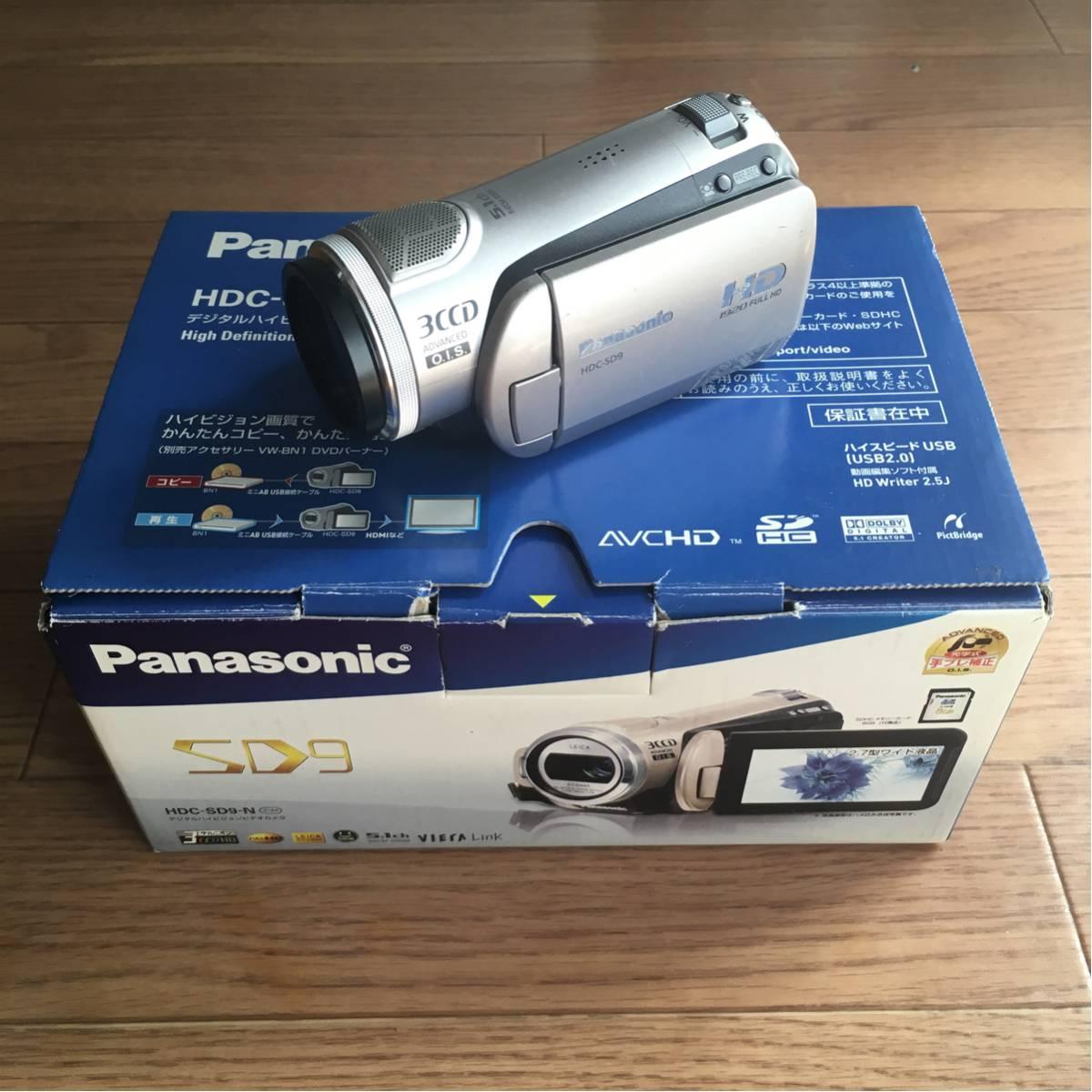パナソニック ビデオカメラ HDC-SD9-N
