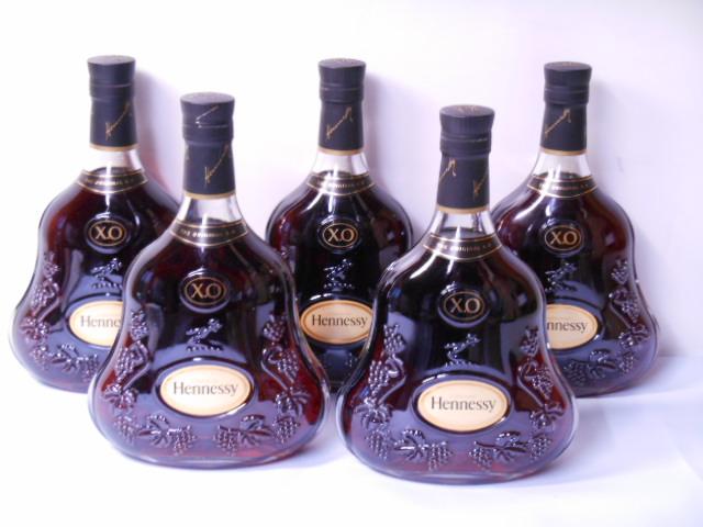 ★★★送料無料 ヘネシー XO 700ml  5本セット  HennessyXO 700ml 即決!!