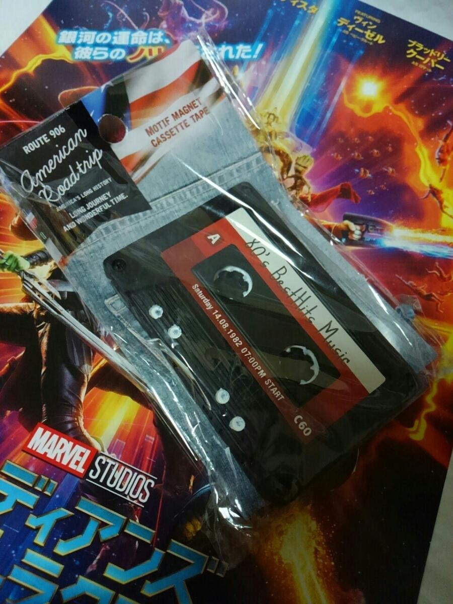 American Road trip カセットテープ マグネット ポリレジン 文鎮等 カセットタイプ 飾り レトロ