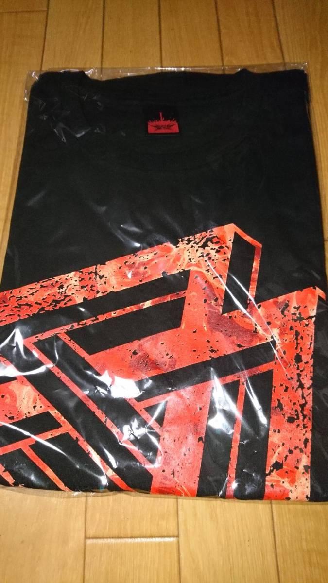 新品未開封 BABYMETAL 巨大キツネ祭り in JAPAN 「TRI-ICON」TEE Tシャツ Lサイズ ライブグッズの画像
