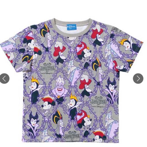ディズニー ヴィランズ Tシャツ Lサイズ ハロウィン ディズニーシー ヴィランズTシャツ おばけ ディズニーグッズの画像