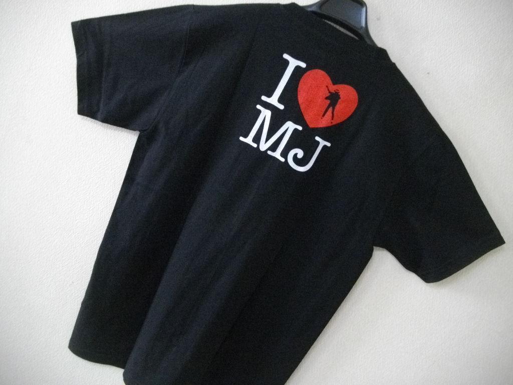 GTS★MichaelJackson 両面プリント Tシャツ★M 【I Love Michael】 即決アリ