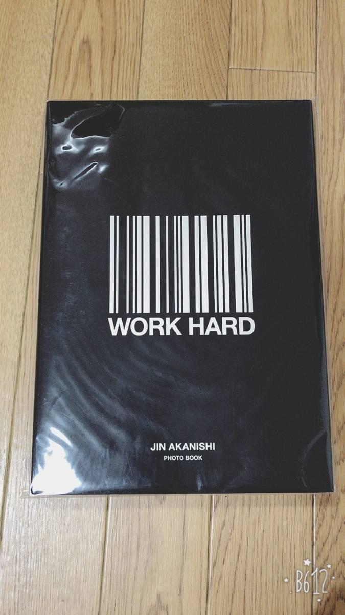 赤西仁 Jin Akanishi WORKHARD PLAYHARD 写真集 フォトブック ライブグッズの画像