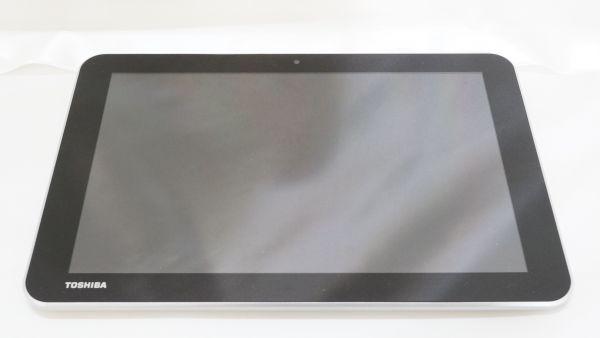 △東芝 スレート型タブレット 白 A204YB 箱・説明書付き コンピュータ アンドロイド 0