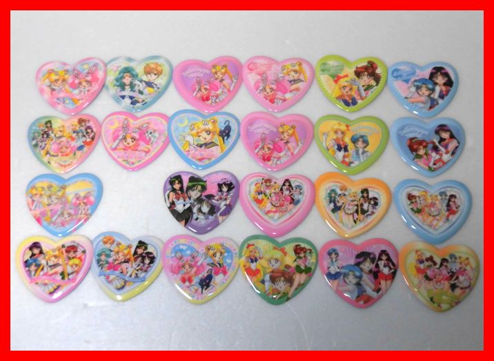 希少!バンダイ 美少女戦士セーラームーン あわ入浴剤のおまけ♪おふろカード 23種23枚 セミコンプ! グッズの画像