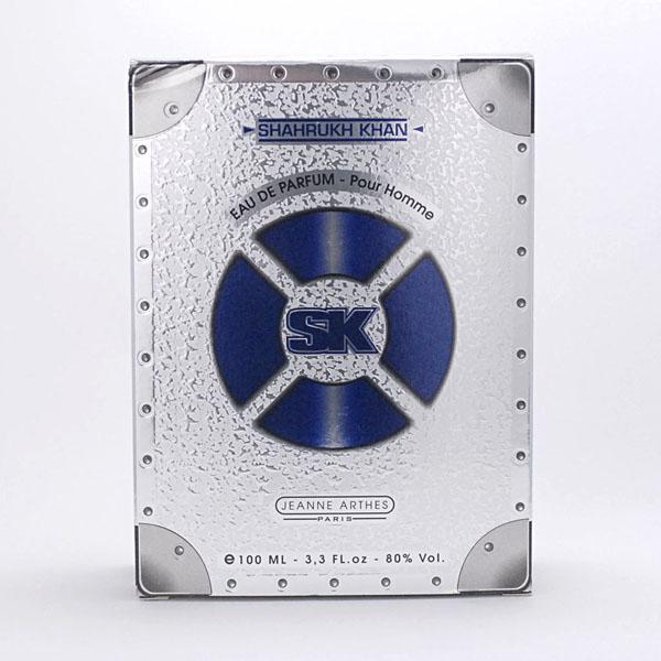 【取り置き同梱OK】ジャンヌアルテス SK シャールクカーン シルバー プールオム EDP 100ml 生産終了 希少_画像1