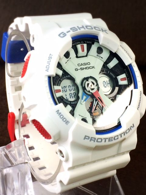 2276f43506 新品 1円 1スタ CASIO カシオ G-SHOCK ジーショック ブランド 腕時計 正規品 アナデジ トリコロール モデル タフネス