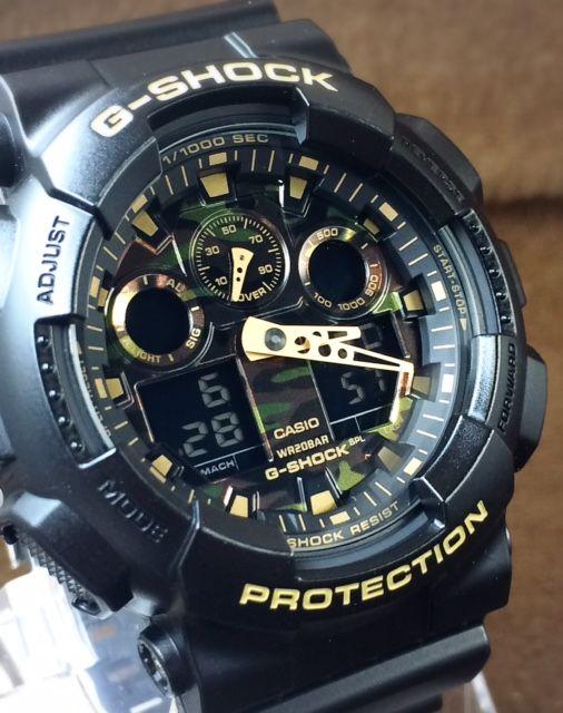 1d379b4d95 新品 カシオ CASIO 腕時計 G-SHOCK ジーショック カモフラージュ カラー シリーズ アナデジ クォーツ ストップウオッチ ミリタリー 1円