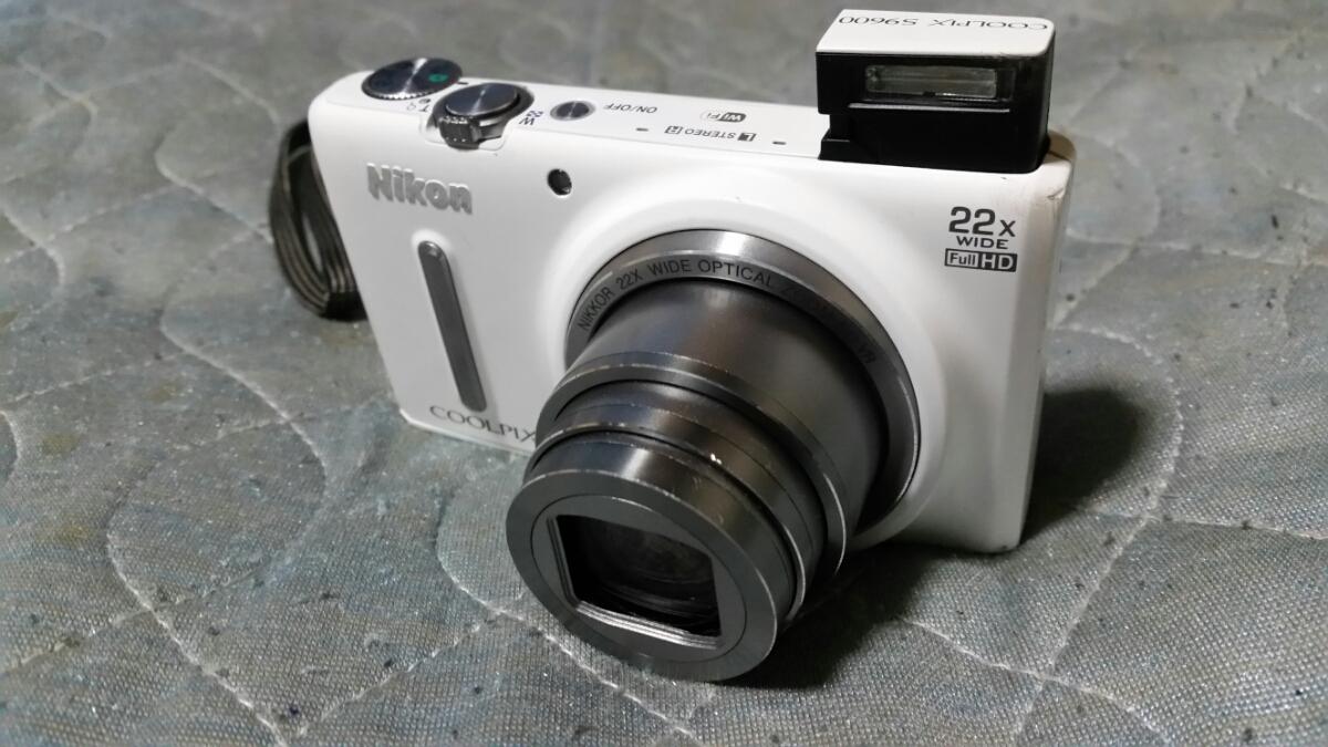 1円~ NIKON ニコン COOLPIX S9600 1600万画素 光学22倍 手ぶれ補正 デジタルカメラ