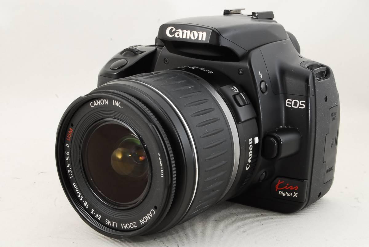 ★初心者必見!!★キヤノン Canon EOS Kiss X 18-55mm レンズセット ♯542