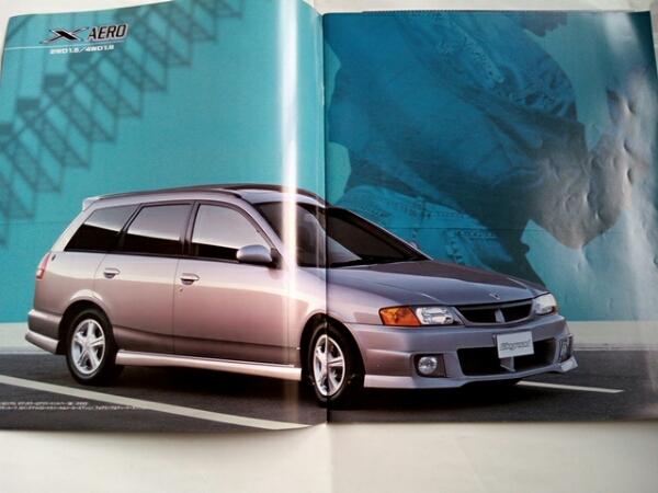 日産 ウィングロード カタログ 1999/11 〒164円_画像2