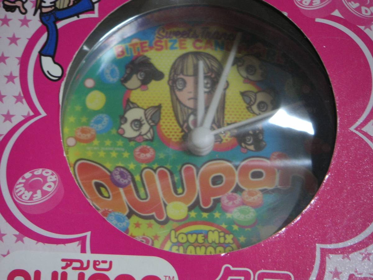 SEGA☆浜崎あゆみ☆ayupan☆アユパンクロック☆置時計♪_画像6