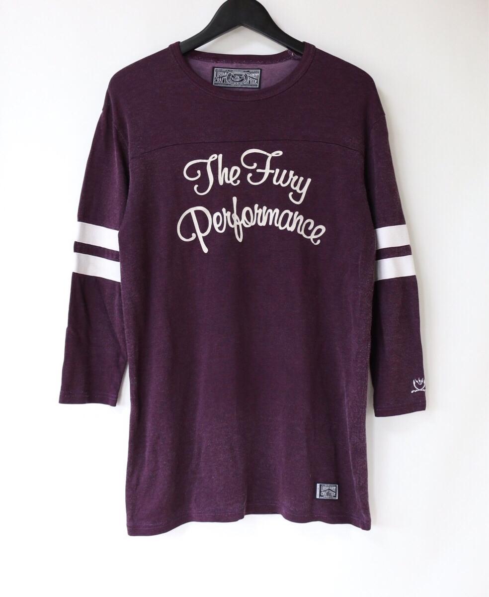 ネイバーフッド フットボール Tシャツ NEIGHBORHOOD 長瀬 七分袖 袖ライン 袖プリント wtaps