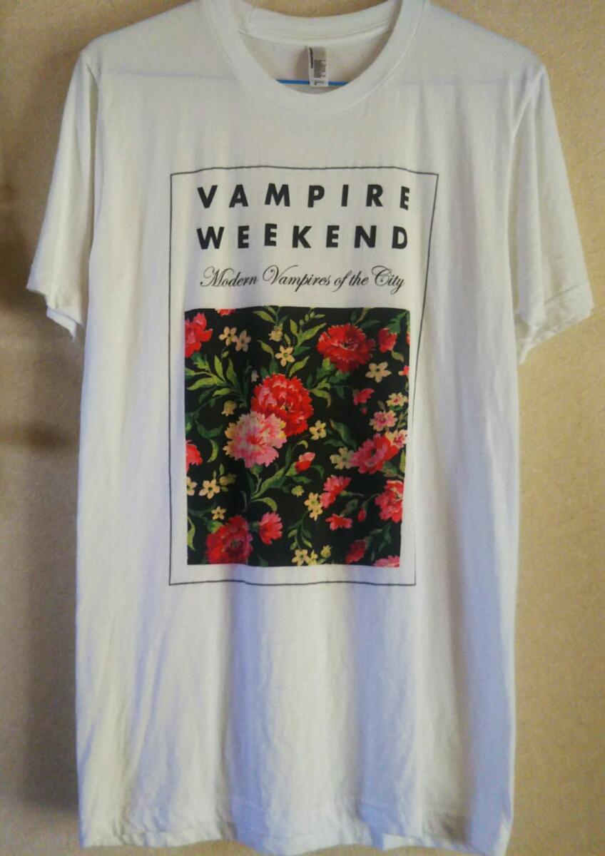 vampire weekend*ヴァンパイア ウィークエンド*アメリカアパレル*Sサイズ*