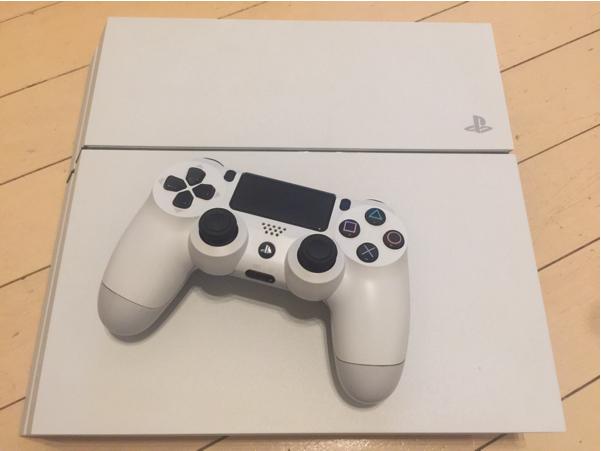PS4 本体 CUH-1200A 白 中古 美品_画像2