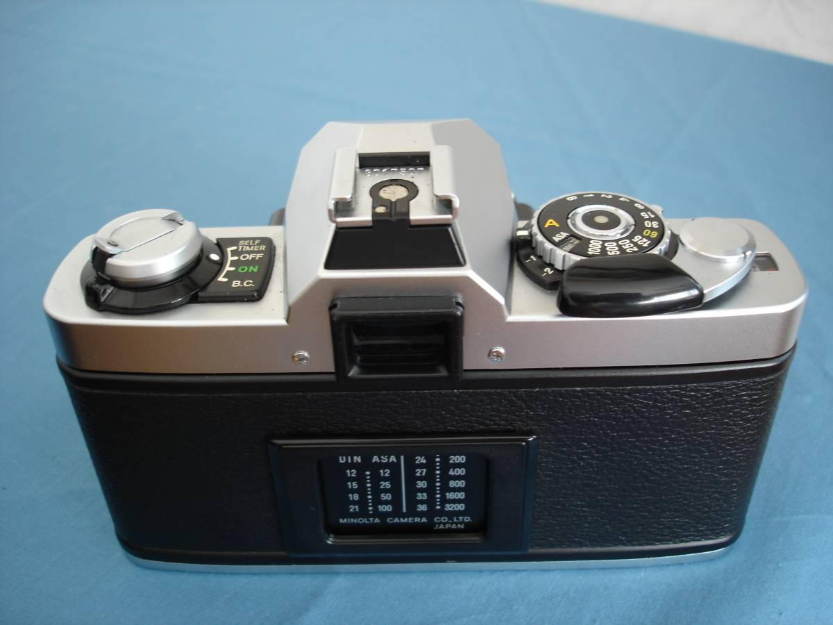 ミノルタ XG-S MDロッコール 50mm f1.7付 完動・美品_画像2