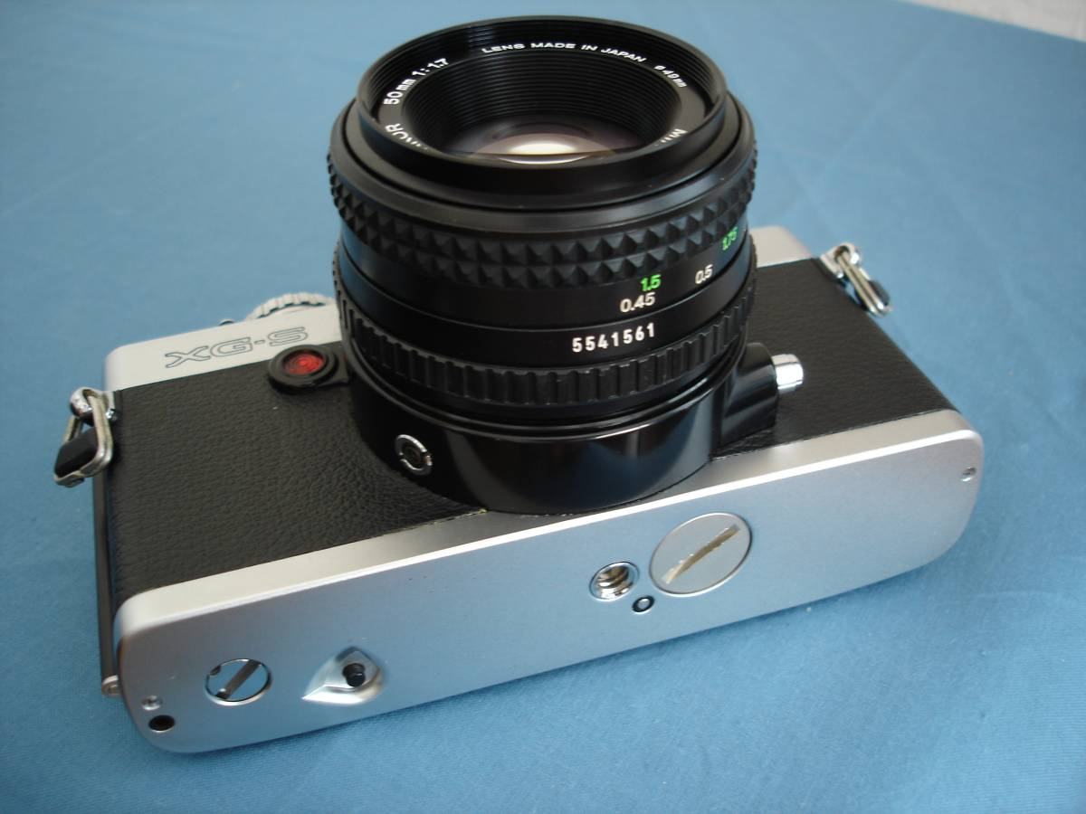 ミノルタ XG-S MDロッコール 50mm f1.7付 完動・美品_画像3