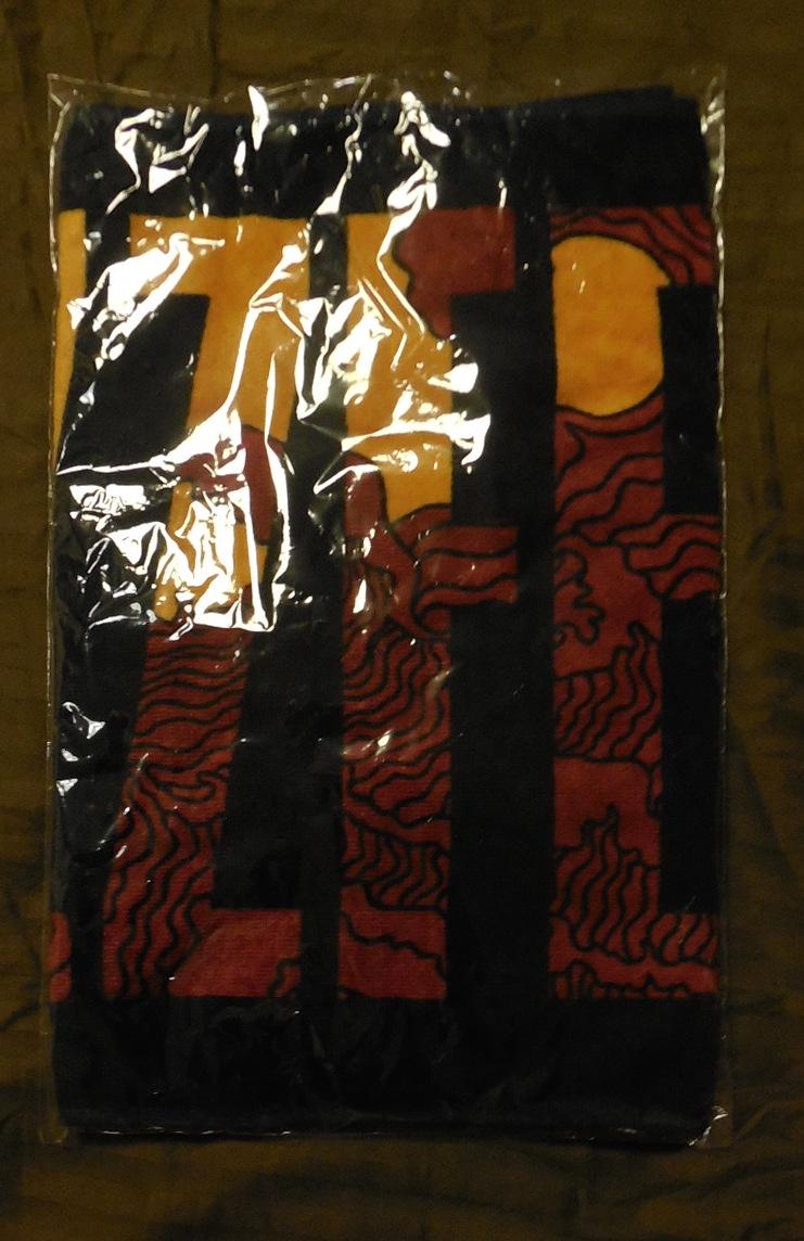 新品未未使用 OZZFEST JAPAN 2015/オズフェス・ジャパン 2015 オフィシャルタオル 黒