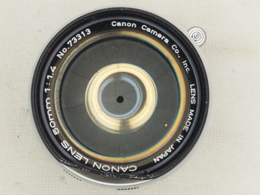 ★キヤノン CANON7 50mm 1:1.4 Lマウント★_画像6