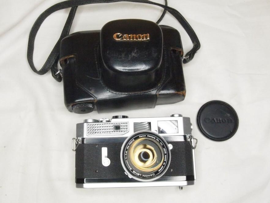 ★キヤノン CANON7 50mm 1:1.4 Lマウント★