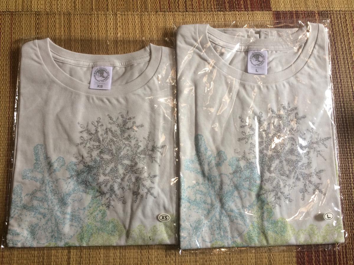未使用 WINTER FANTASIA 2010 Tシャツ 2点セット ライブ フェス ドリカム DREAMS COME TRUE ライブグッズの画像