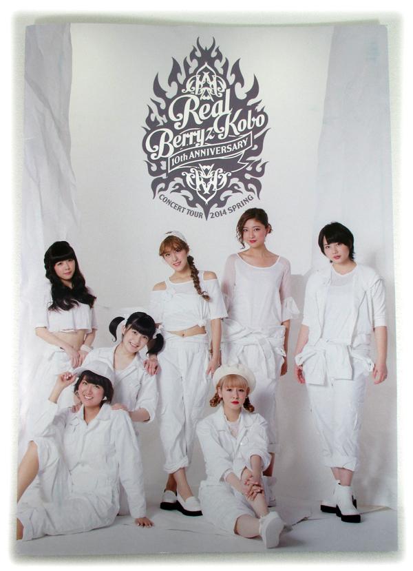 即決 ビジュアルブック「Berryz工房/10th TOUR 2014春 Real」