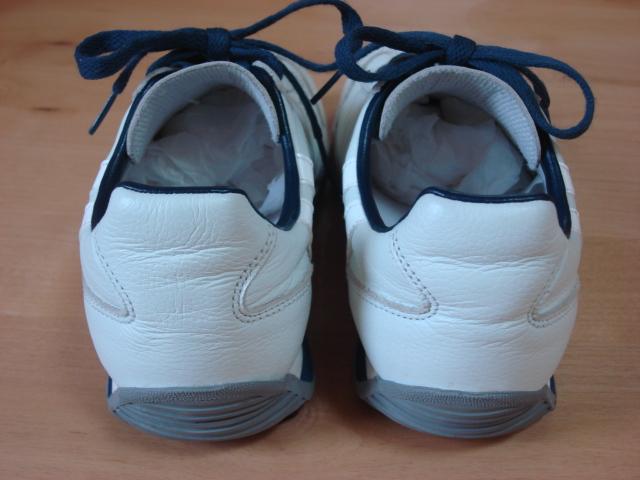 パトリック スニーカー マラソンレザー ホワイト/ネイビー 98700限定生産カラー サイズ41(約26.0㎝)〈中古美品〉_画像4