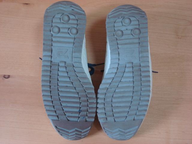 パトリック スニーカー マラソンレザー ホワイト/ネイビー 98700限定生産カラー サイズ41(約26.0㎝)〈中古美品〉_画像6